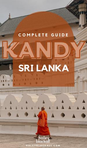 Kandy Sri Lanka Pin