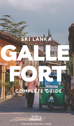 Galle Fort Pin