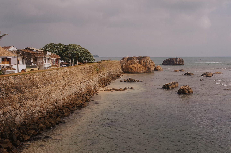Galle Fort Ramparts Sri Lanka
