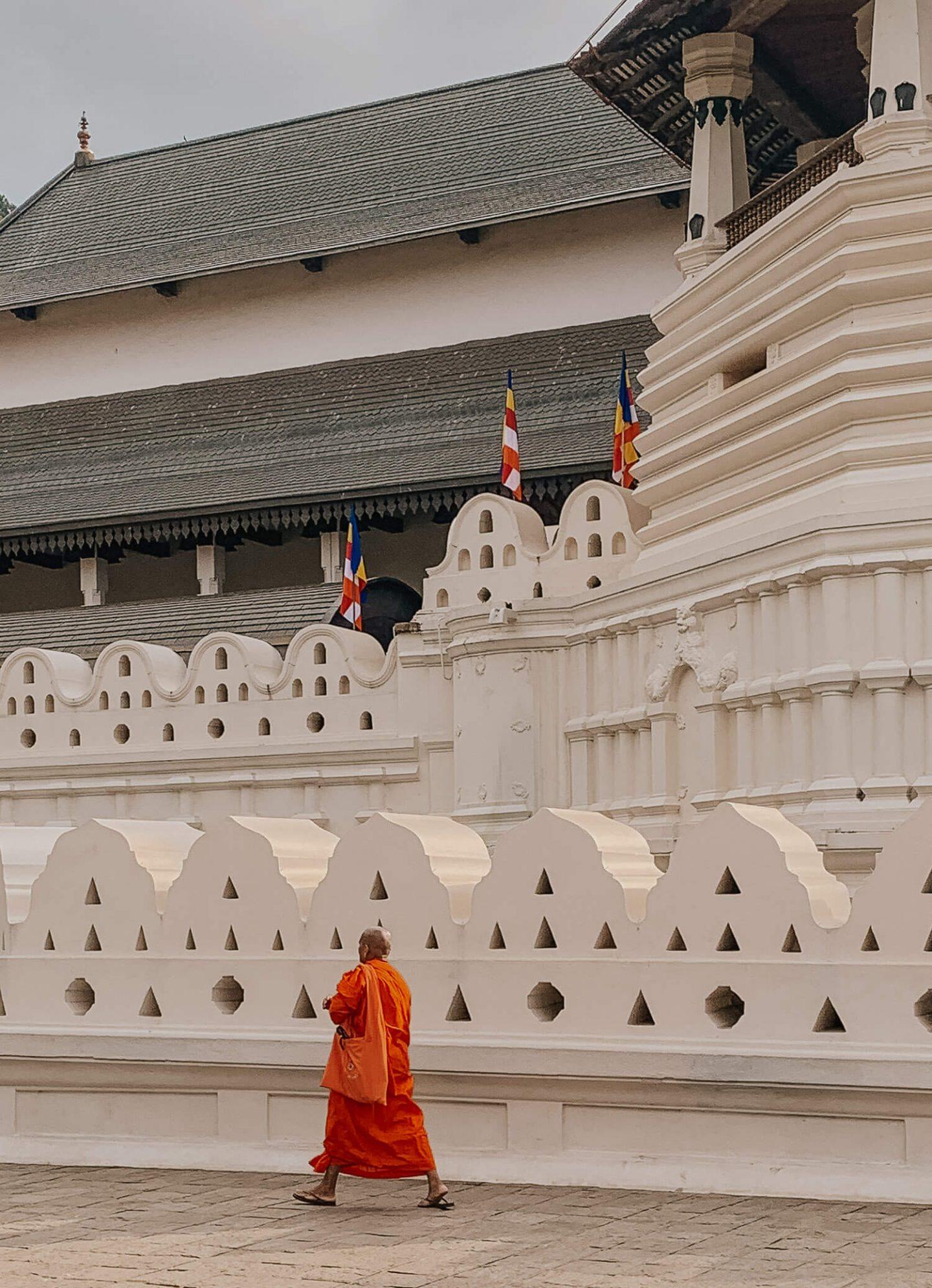 Sacred Tooth Relic Kandy Sri Lanka