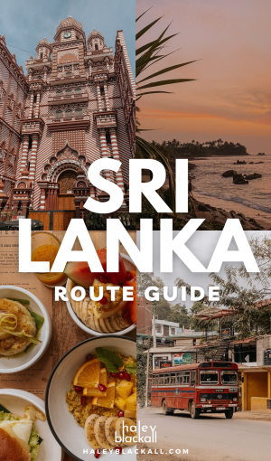 3 Weeks in Sri Lanka Pin