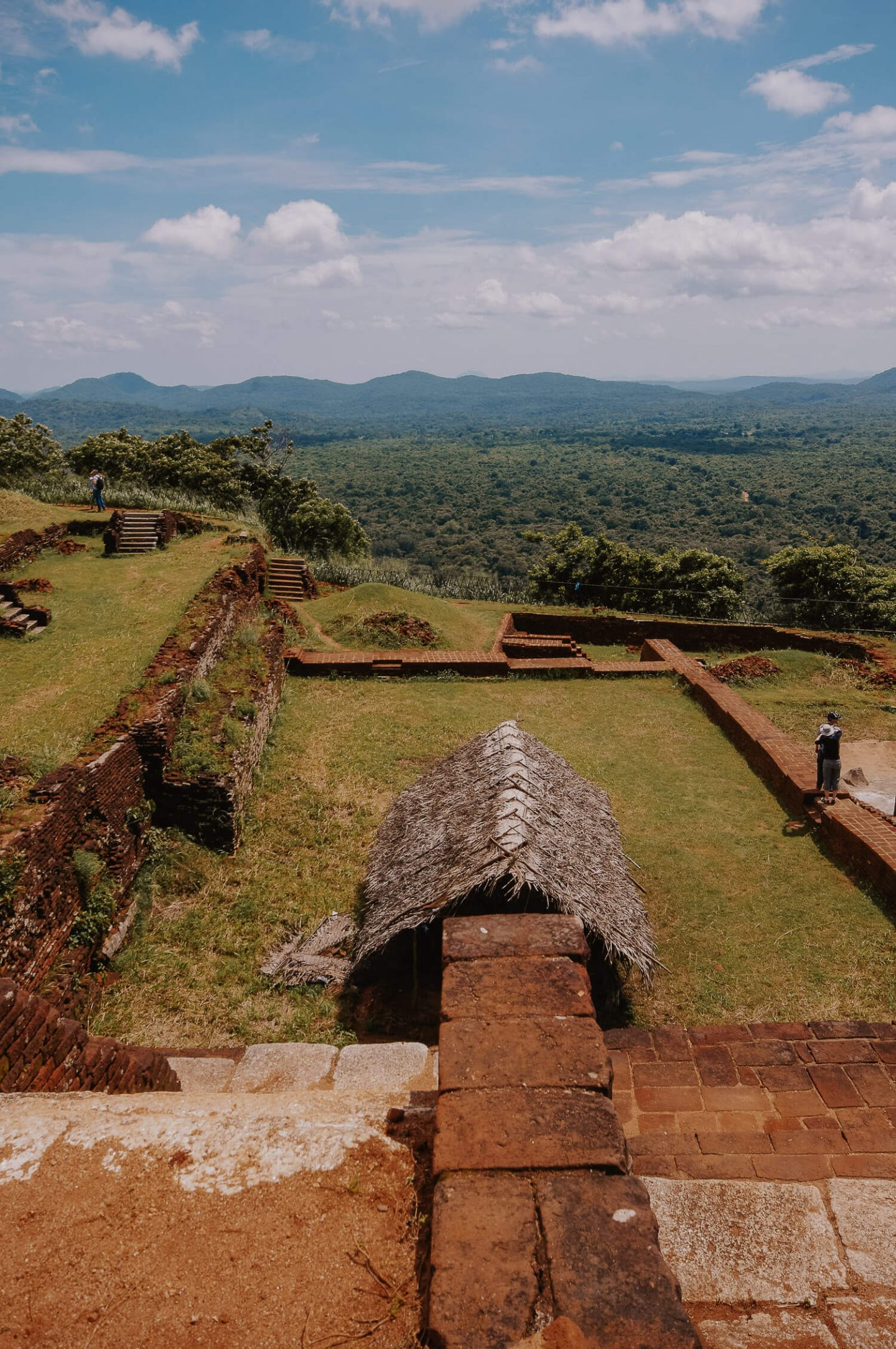 Grounds at Sigiriya Rock Fortress Sri Lanka