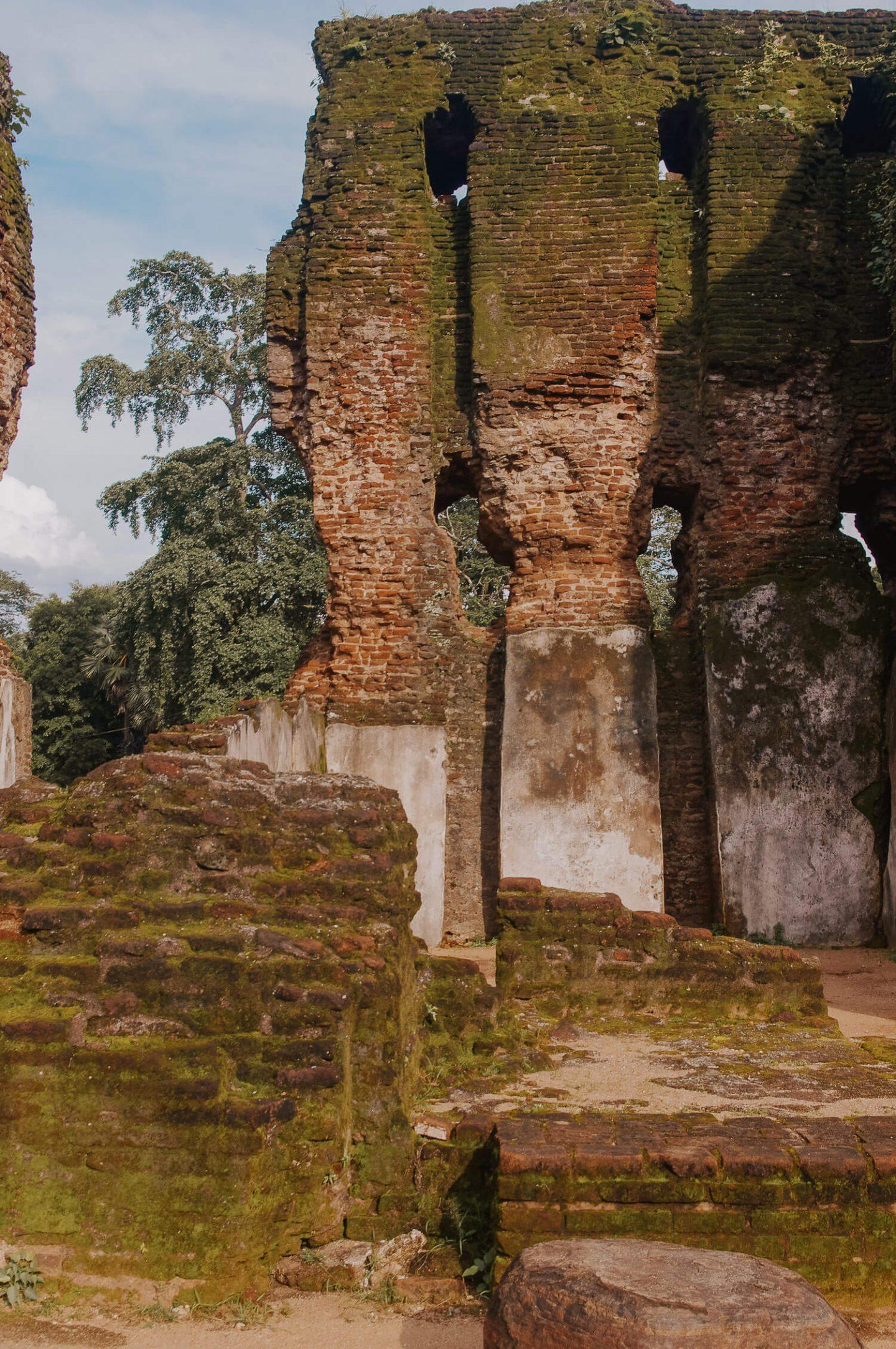 Ruins at Polonnaruwa Sri Lanka