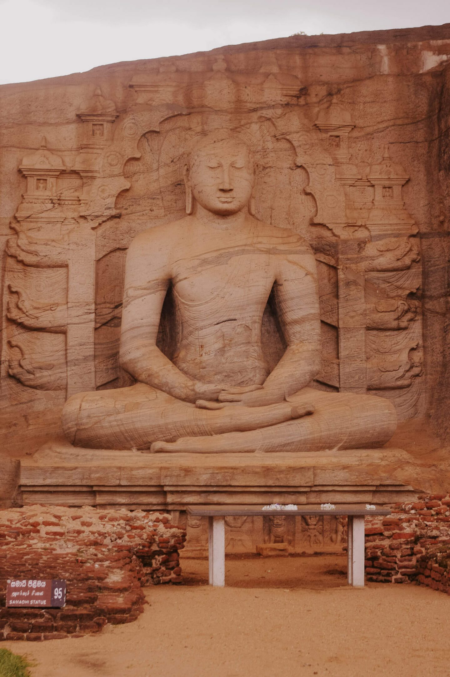 Statue at Polonnaruwa Sri Lanka