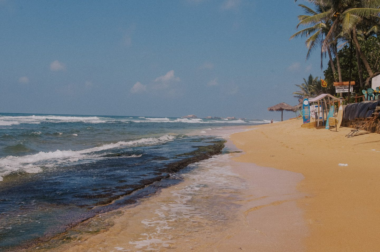 Hikkaduwa Beach Three Weeks in Sri Lanka
