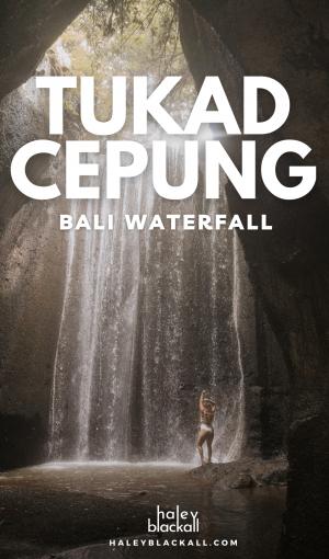 Tukad Cepung Waterfall Pin