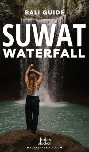 Suwat Waterfall Bali Pin