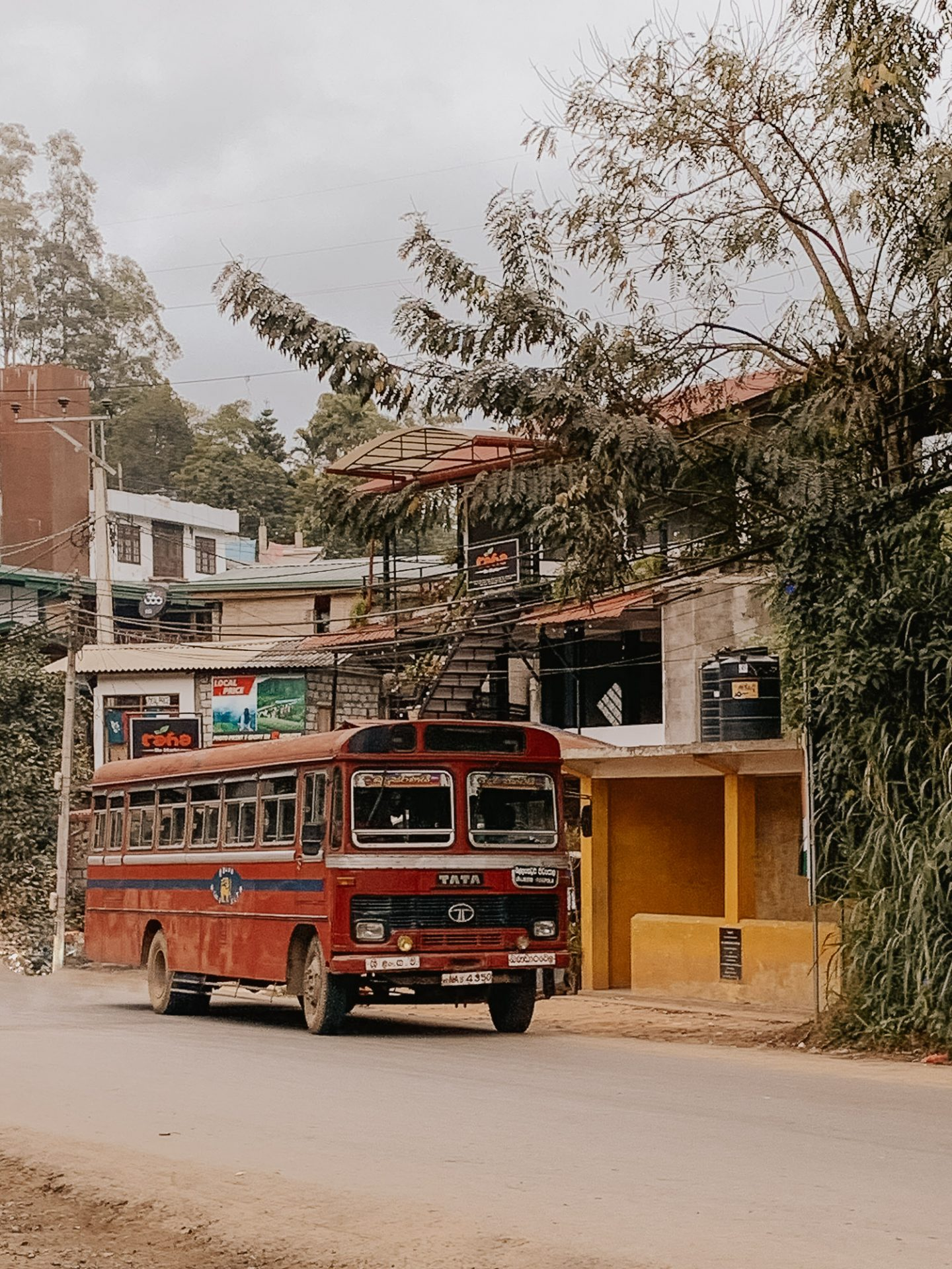 What to pack for Sri Lanka Bus in Ella