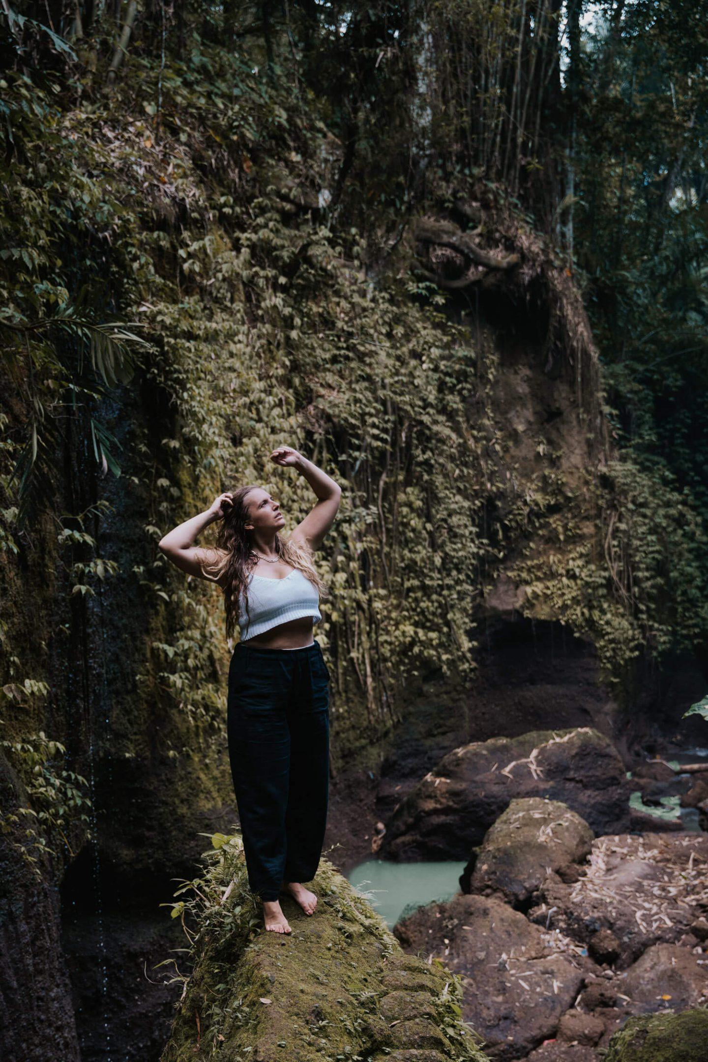 Photography at Suwat Waterfall Bali