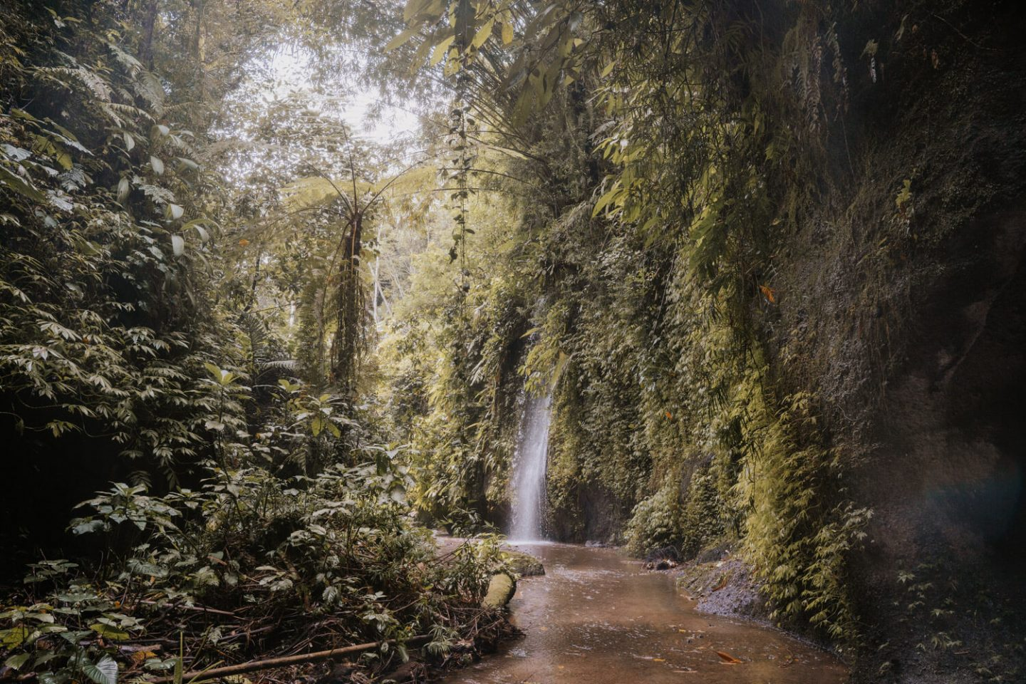 Other side of Tukad Cepung Waterfall