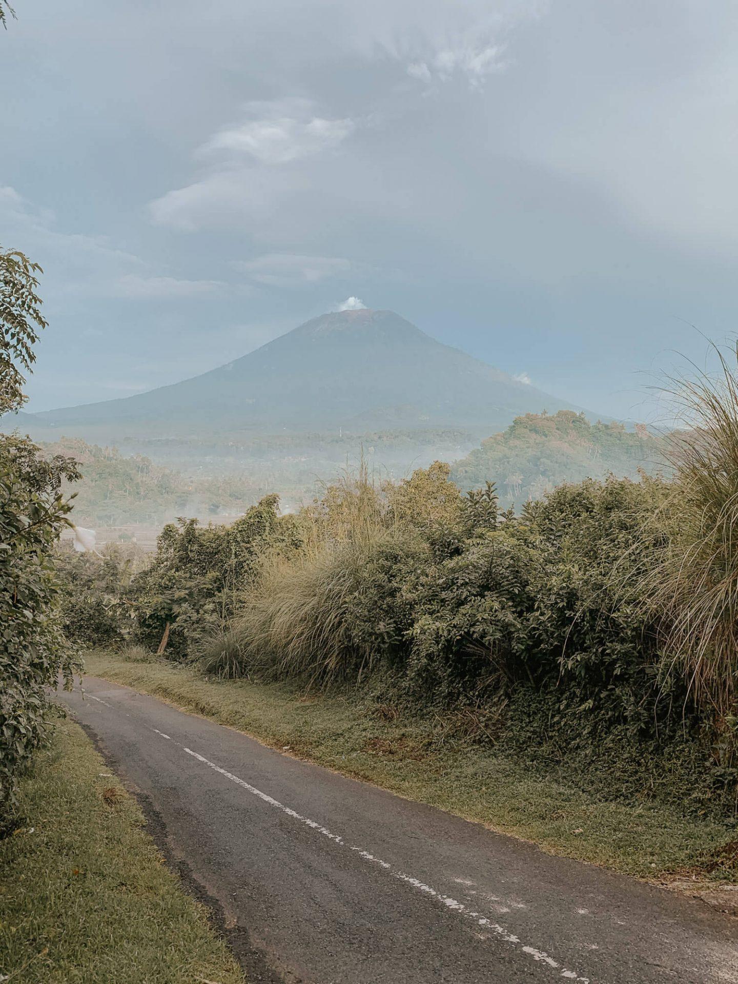 Road to Bukit Cinta Bali