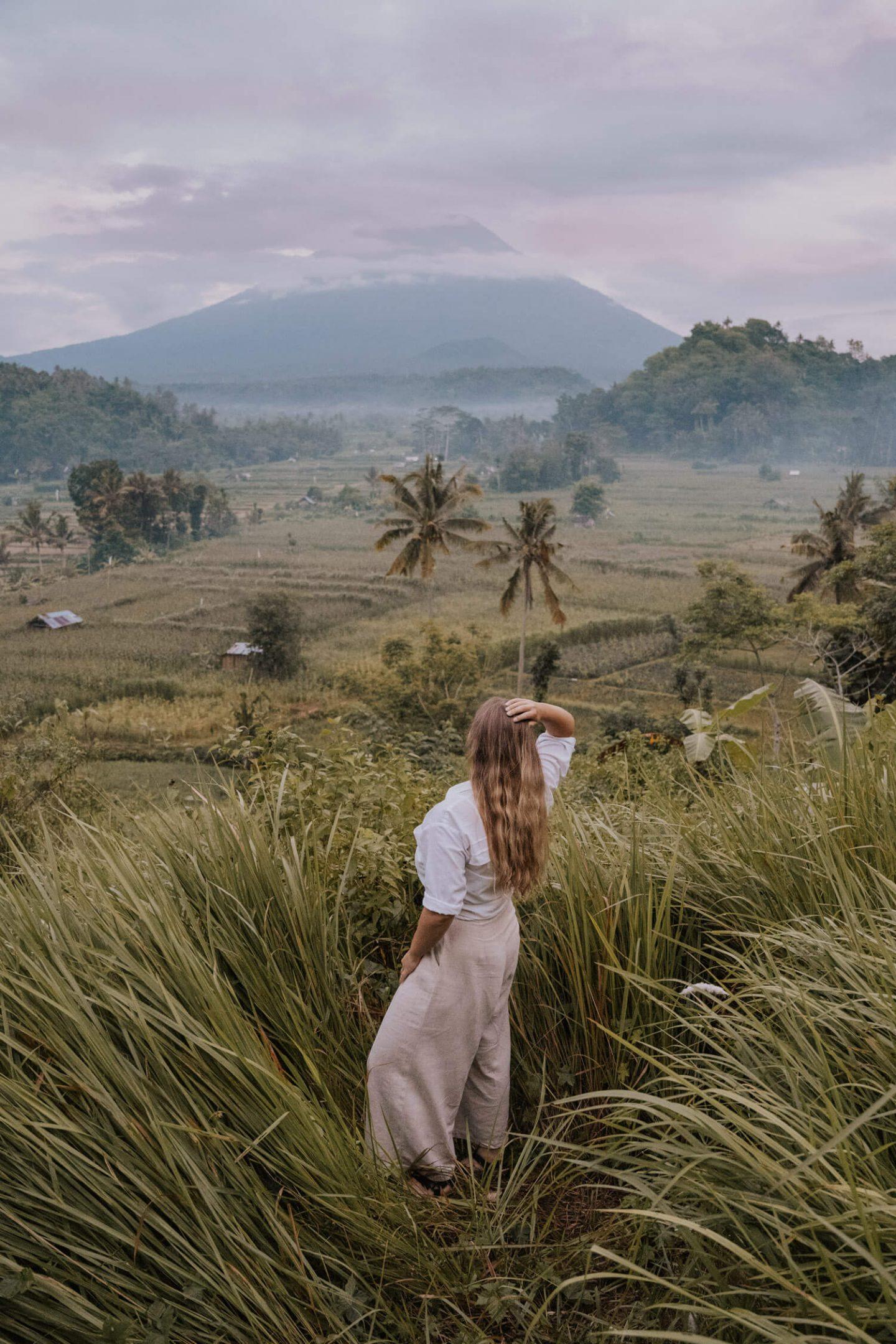 Best View of Mount Agung