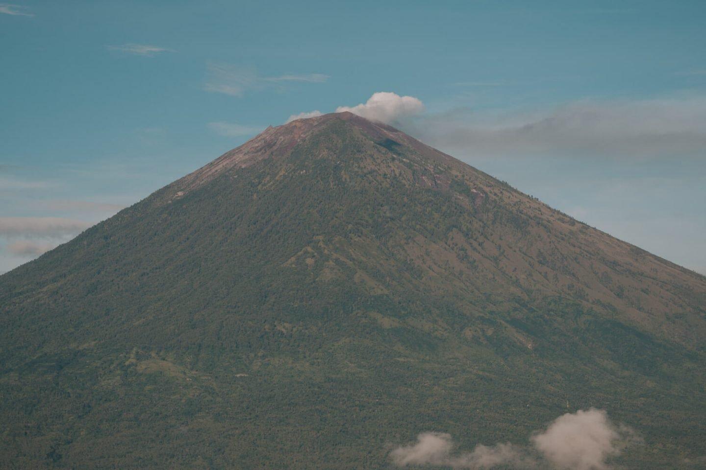 Mount Agung in East Bali
