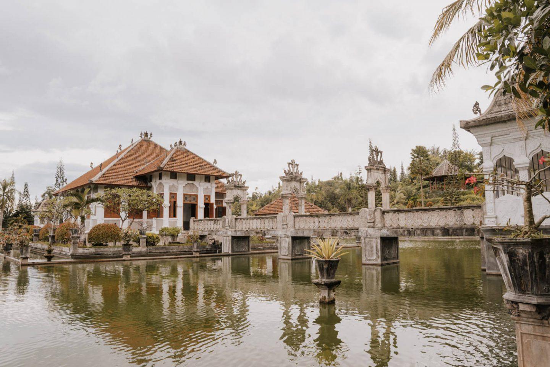 Taman Ujung Water Palace in East Bali