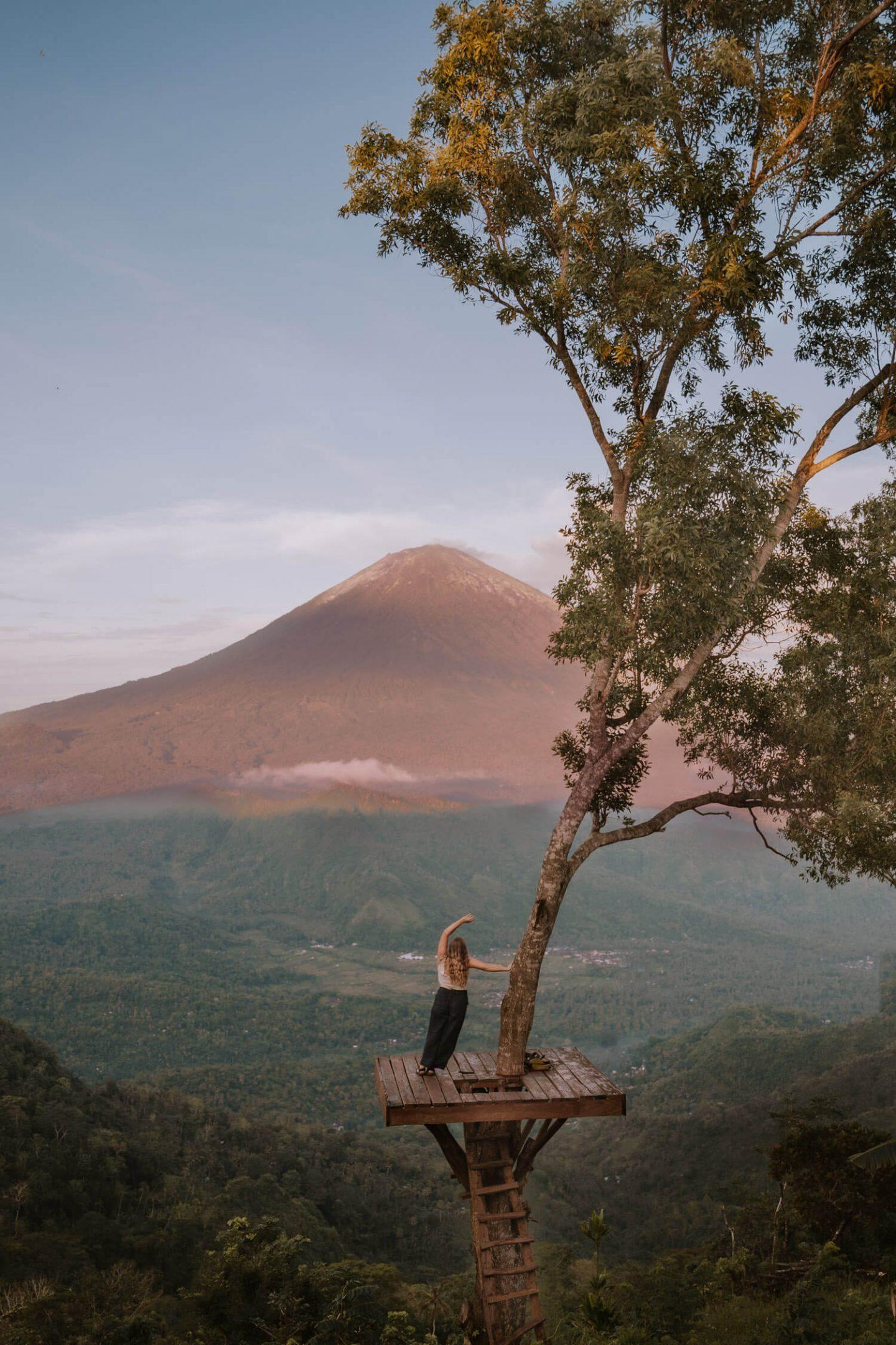 Lahangan Sweet Viewpoint in East Bali