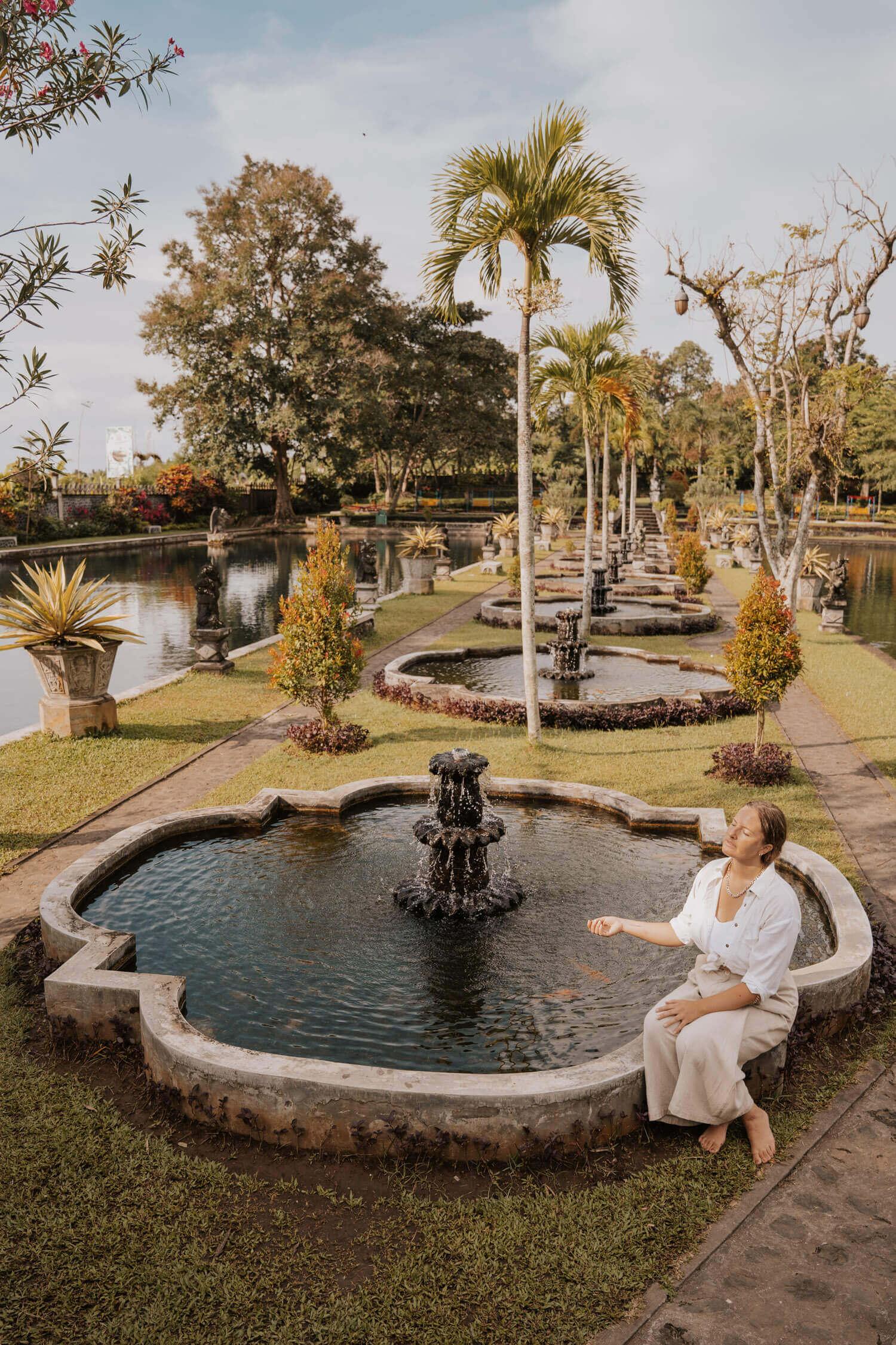Tirta Gangga Water Palace Bali Instagram