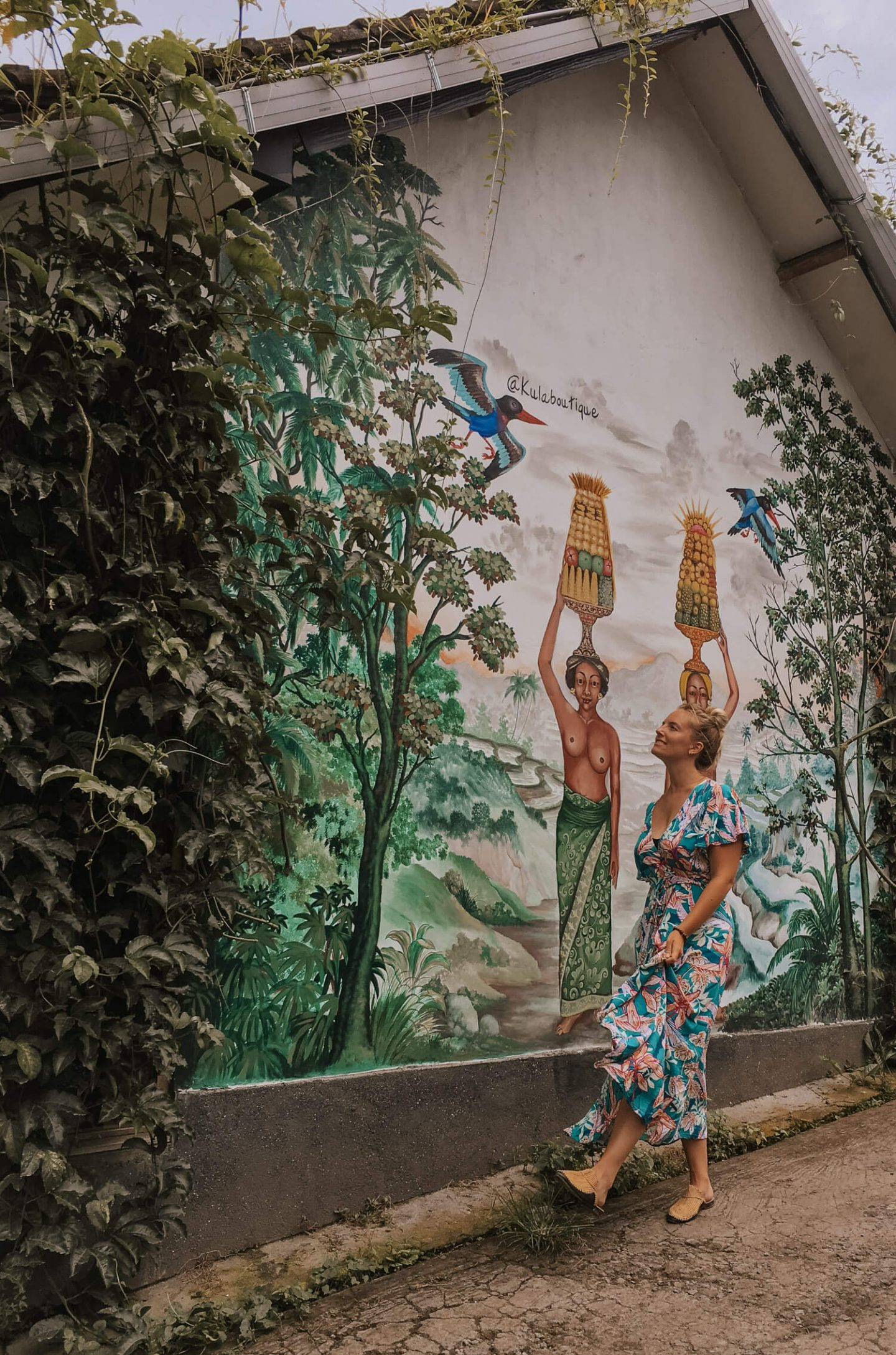 mural Ubud