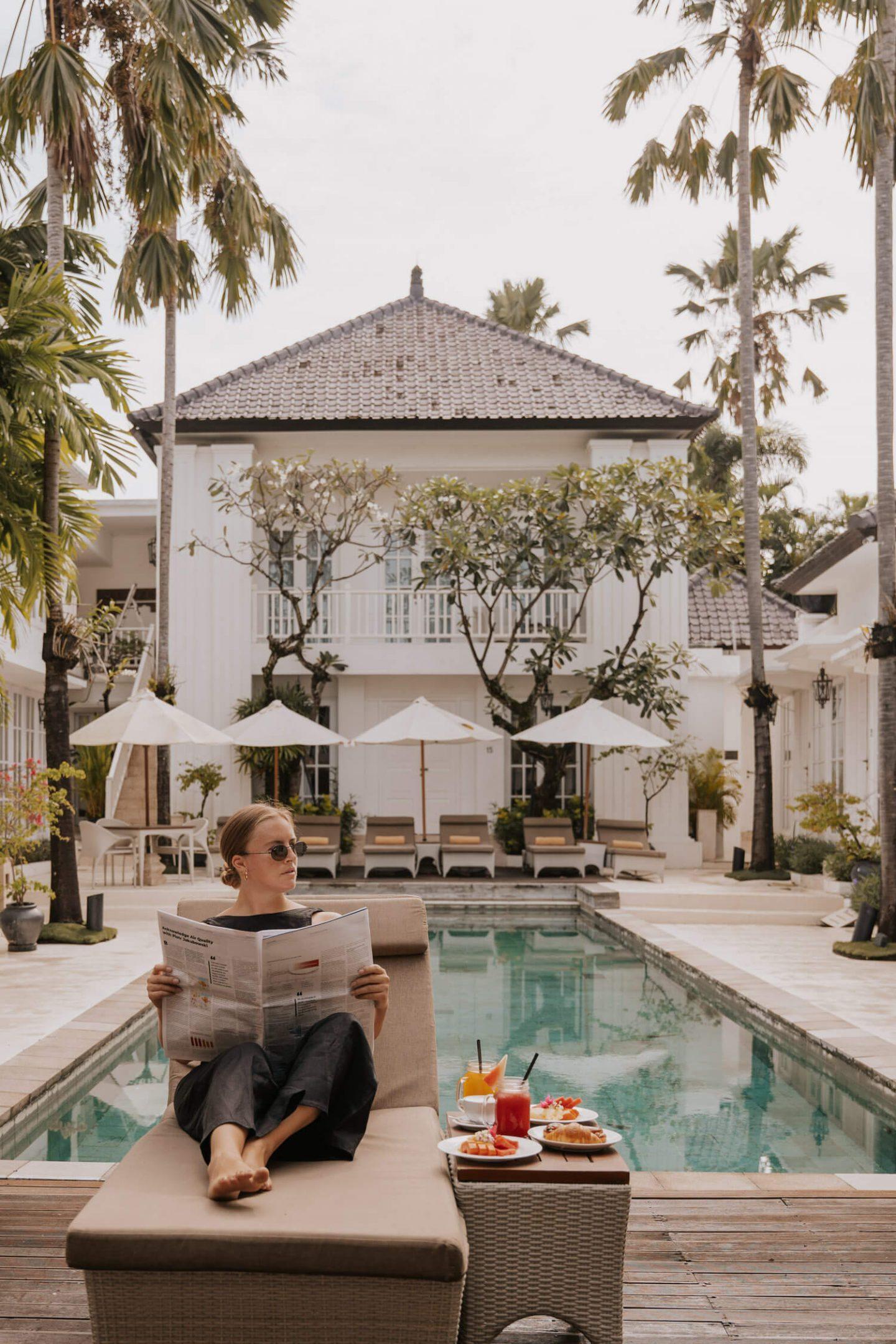 The Colony Hotel Bali Instagram Spots
