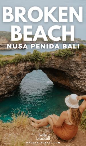 Broken Beach Nusa Penida Pin