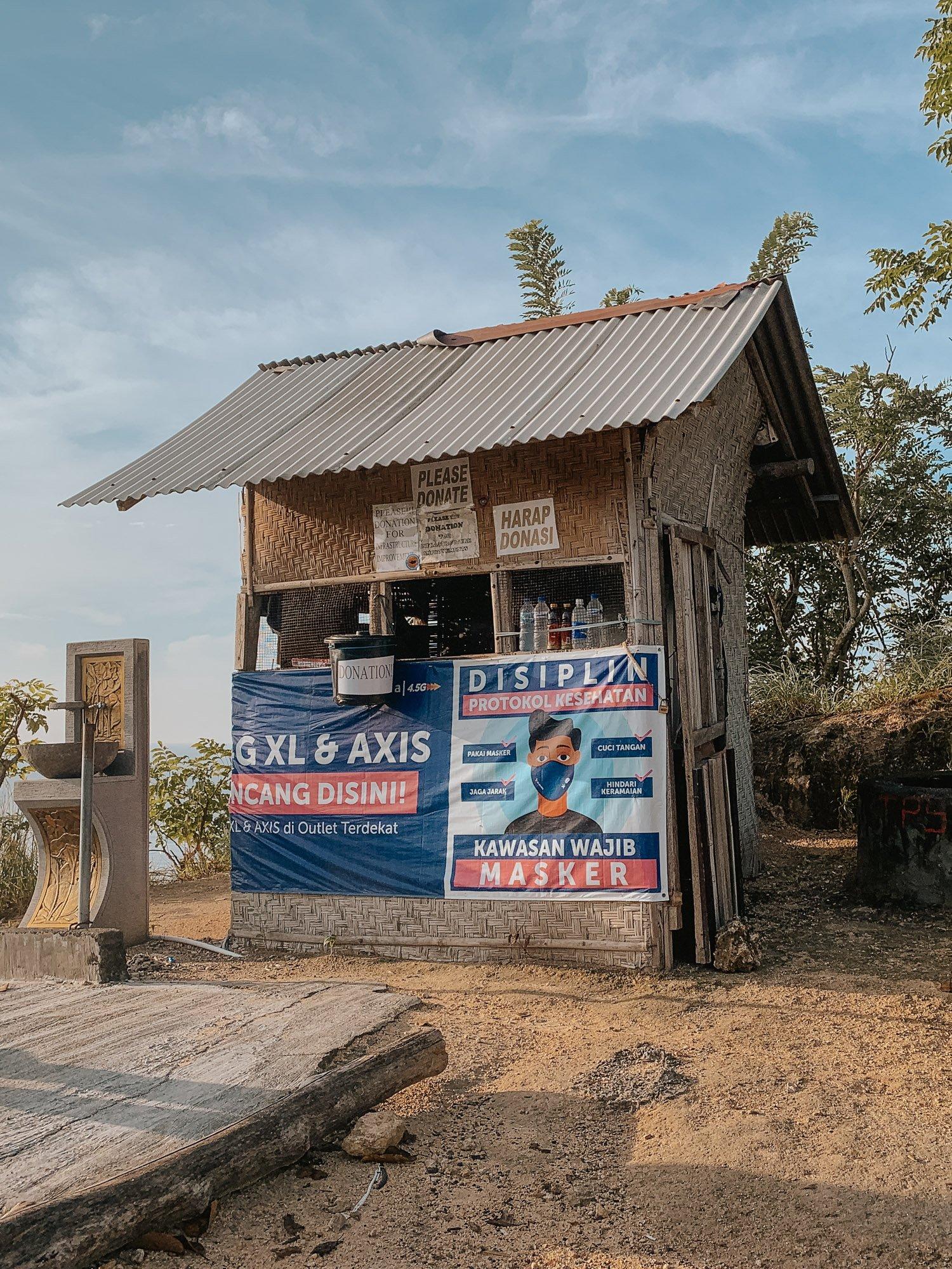 Diamond Beach Nusa Penida Entrance Fee