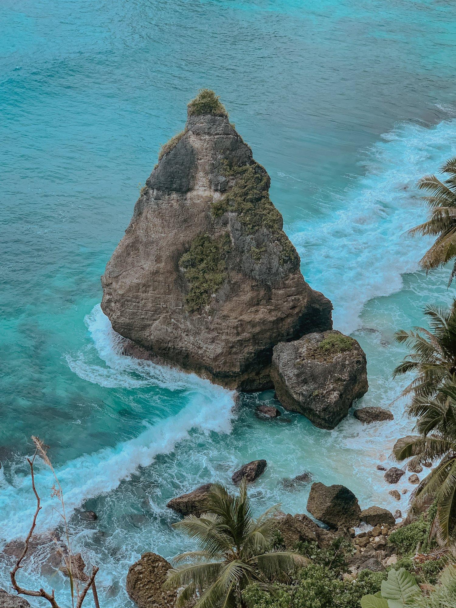 Diamond Beach Nusa Penida Rocks