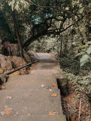 Stairs at Tembeling Natural Pool