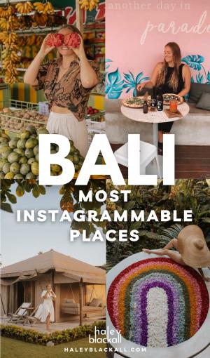Bali Instagram Spots Pin