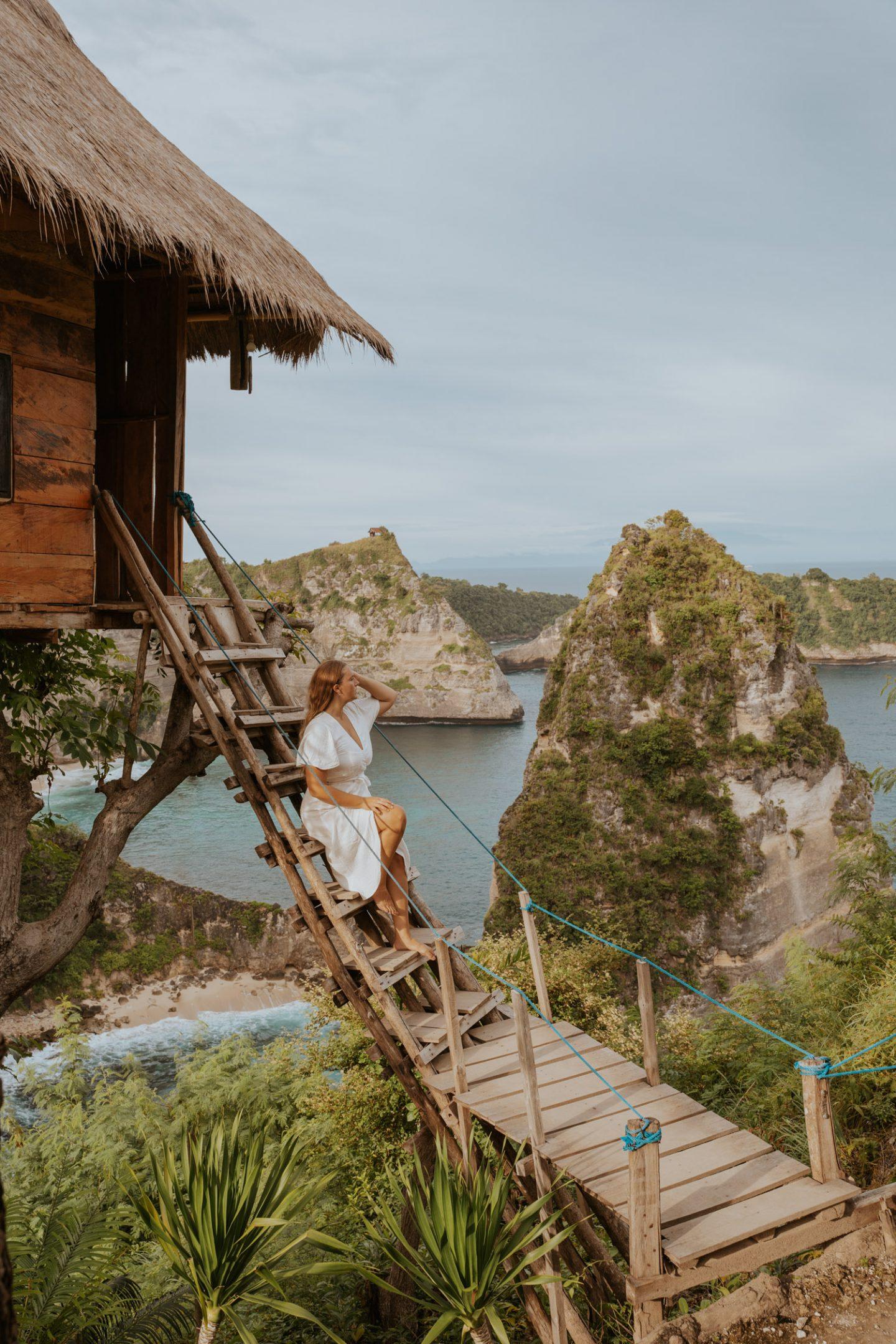 Treehouse in Nusa Penida